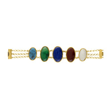 Multicolored Statement Bracelet