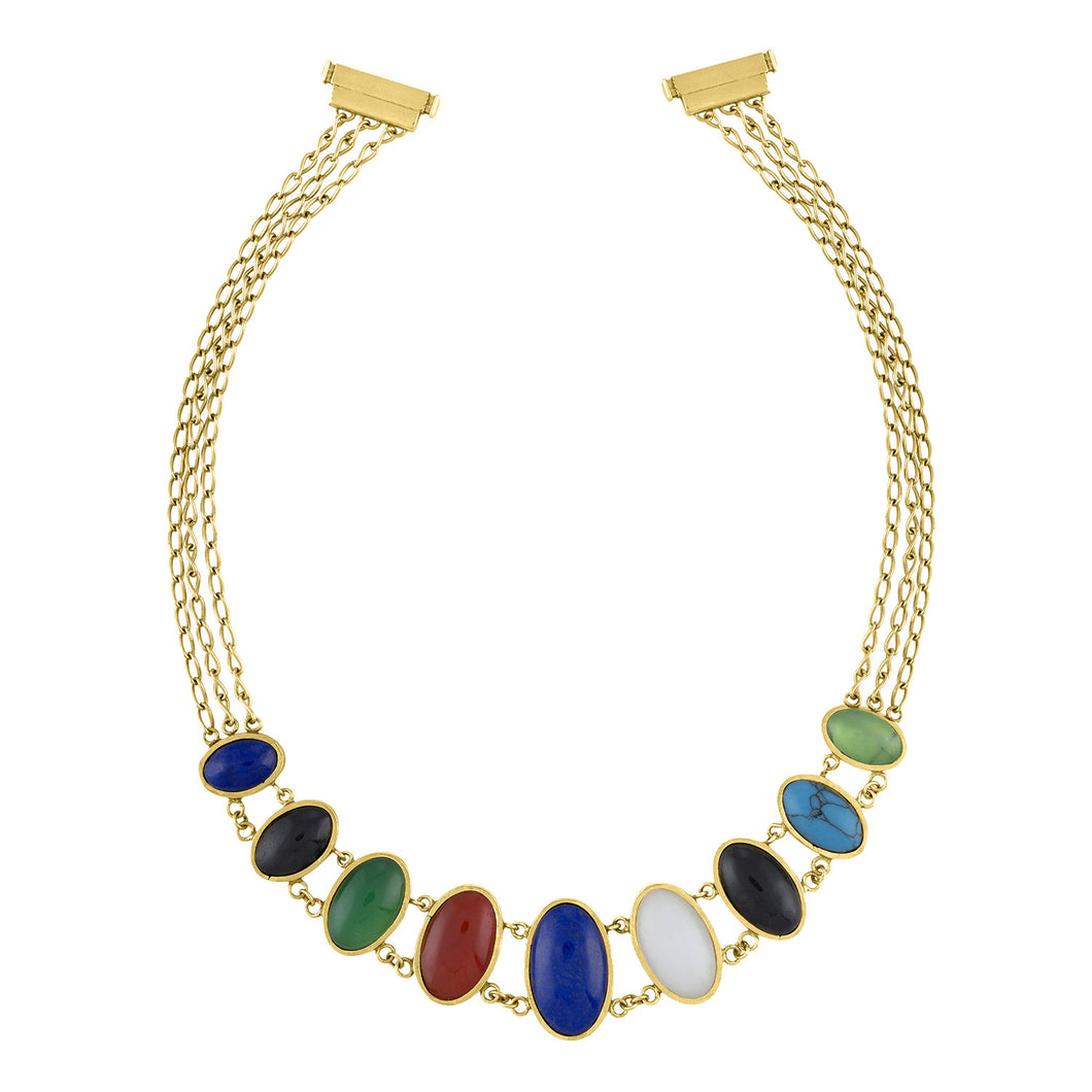 Classic Diversity Necklace (Nine Stone)