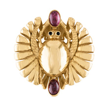 Mehi Scarab Ring