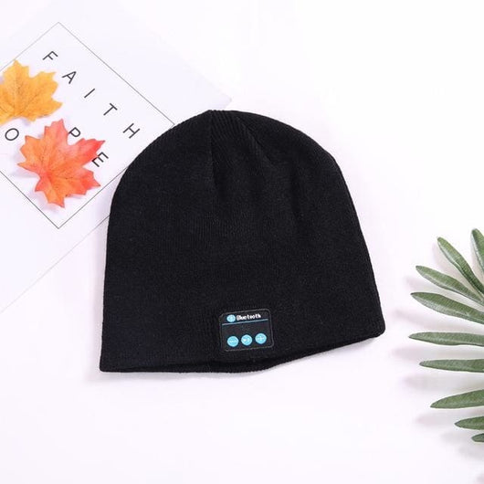 Bluetooth Smart Beanie - Black - Music Listening