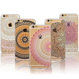 Colorful Floral Mandala Henna Back Cover For Iphone - Phone Accessories