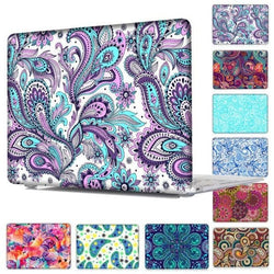 Ethnic Pattern Laptop Case For Macbook With Keyboard Cover - Computer Accessories