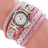 Fashion Womens Watch - Vintage Sterling Bracelet Style - Pink - Womens Watch