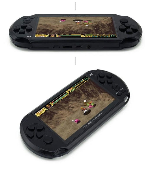 Handheld Retro Game Console With 5.0 Inch Large Screen - Gaming Gear
