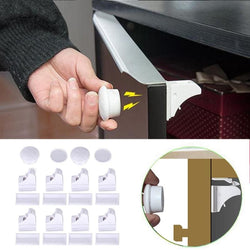 Magnetic Safety Cabinet Lock For Baby/children Protection - Kids-Babies
