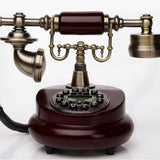 Antique Landline Telephones With LCD Display