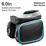 Waterproof Double Pouch with Cell Phone Cover Cycling Bag