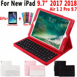 iPad Air Case with removable bluetooth keyboard and leather cover stand