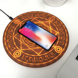 Best Wireless Charger with Mystical Design Charging Pad