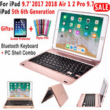 iPad Keyboard Case With Top Flip Cover