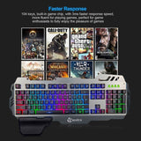 Professional Gaming Waterproof Keyboard With Phone Holder - Gaming Gear