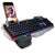 Professional Gaming Waterproof Keyboard with Phone Holder
