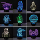 Star Wars Creative 3D Nights Lamp