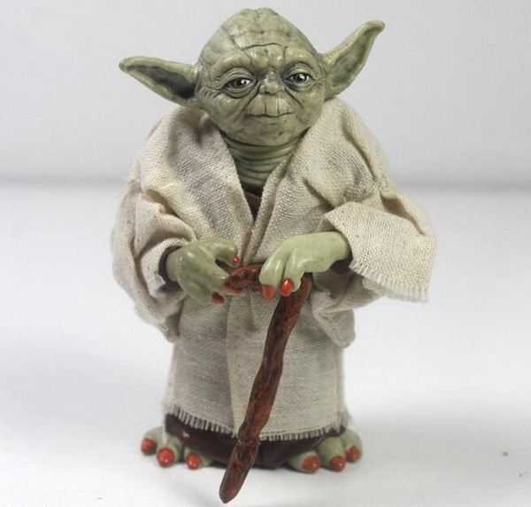 Star Wars Master Yoda Action Figure - Star Wars Merchandise