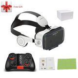 Vr Glasses With Headset For Smartphone - Mobile Phone Accessories