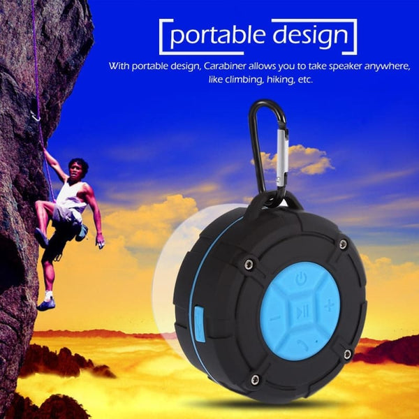 Waterproof Outdoor Bluetooth Portable Speaker - Music Listening