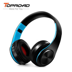 Wireless Bluetooth Foldable Stereo Headset - Music Listening