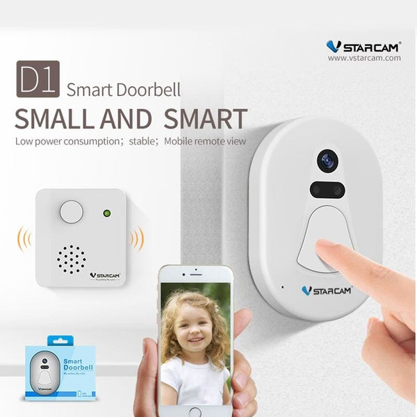 Wireless Doorbell With Security Night Vision - Home Improvement