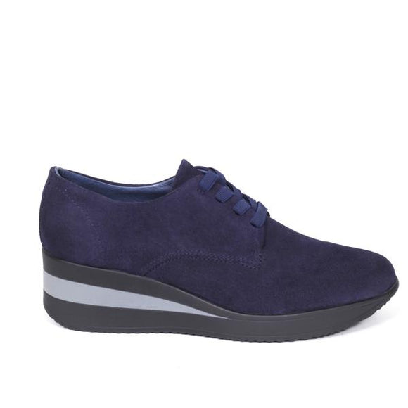 Derbies Confort Bleu