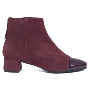 Bottine Chic -S- Aubergine