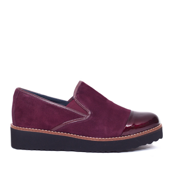 Slipper Moon Bordeaux