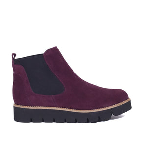 Bottine Chelsea Trend Bordeaux