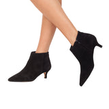 OUTFIT - bottines kitten heel noir