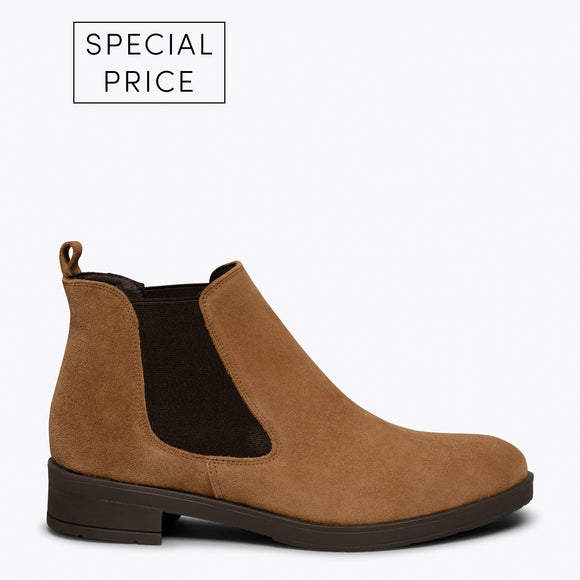 PICADILLY - Bottines chelsea CAMEL pour femme