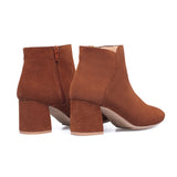 DAY - Bottines Casual en cuir MARRON