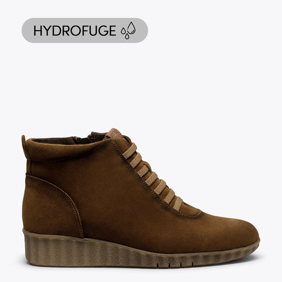 FLEXY - Bottes de sport hydrofuges MARRON