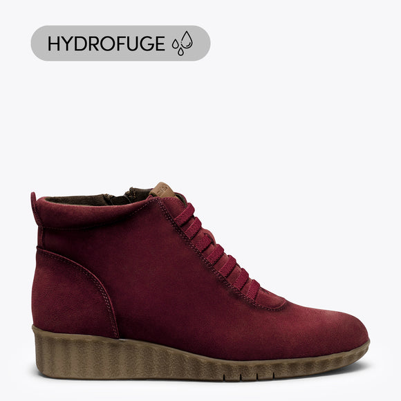 FLEXY - Bottes de sport hydrofuges ROUGE