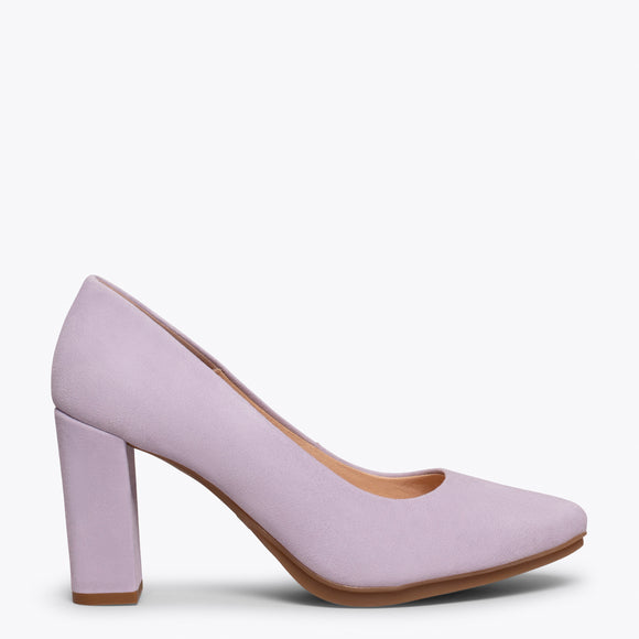 chaussure femmes lilas