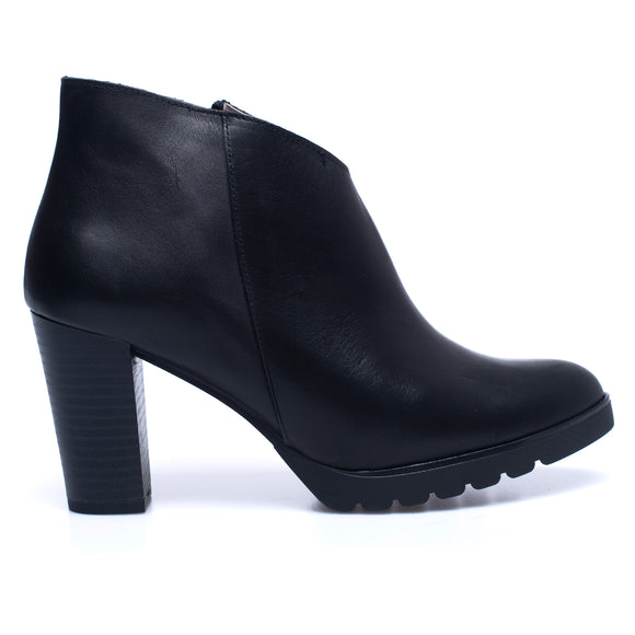 BOTTINES CLASSIC – Bottines pour femme à talon NOIR