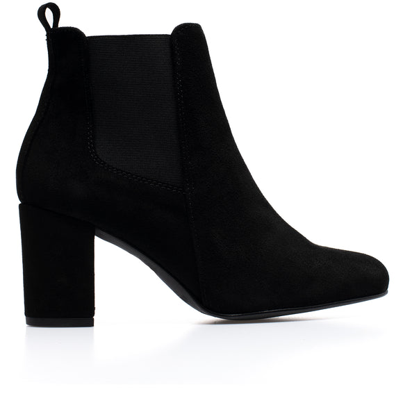 BOTTINES URBAN- Bottines à talon NOIR