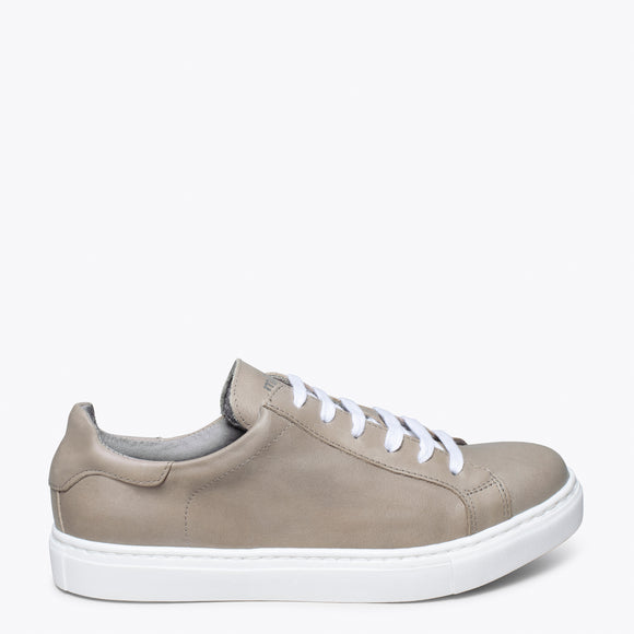 SNEAKER MEMORY ABSORBER FOAM - Chaussures de sport pour femme TAUPE