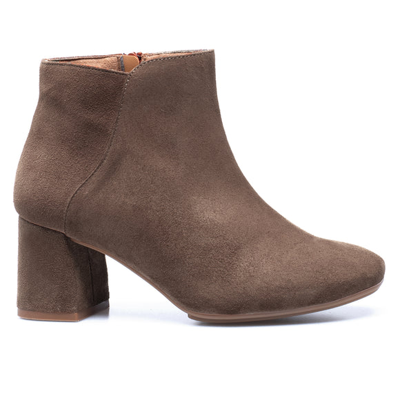 DAY - Bottines Casual en cuir TAUPE