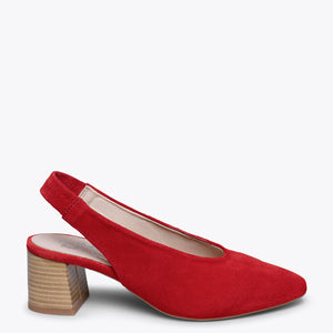 STYLE V - Chaussures à petits talons ROUGE
