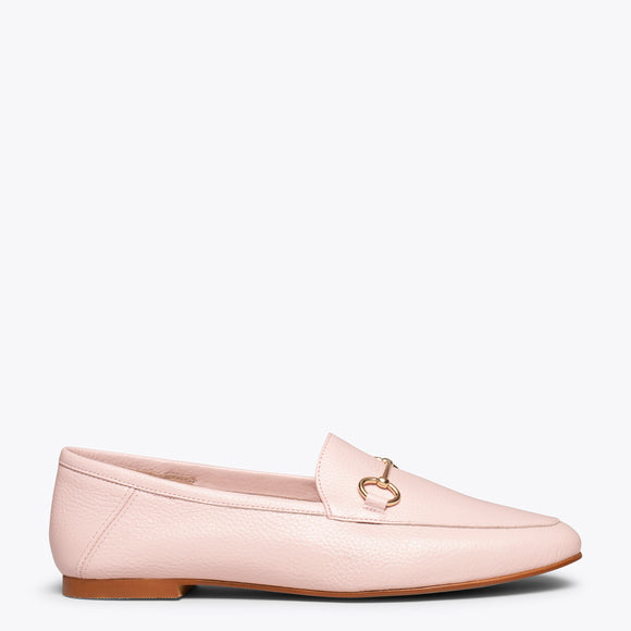 chaussures plates femme rose