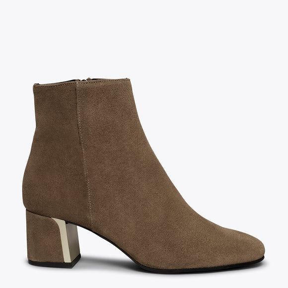 GOLD - Bottines pour femme MARRON