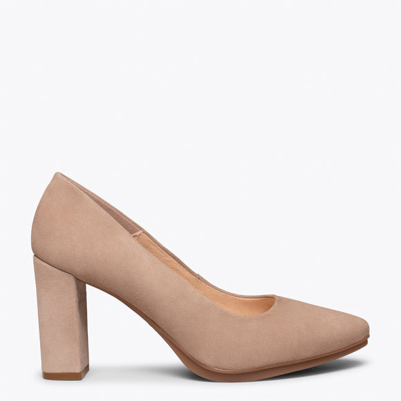 chaussure femmes taupe