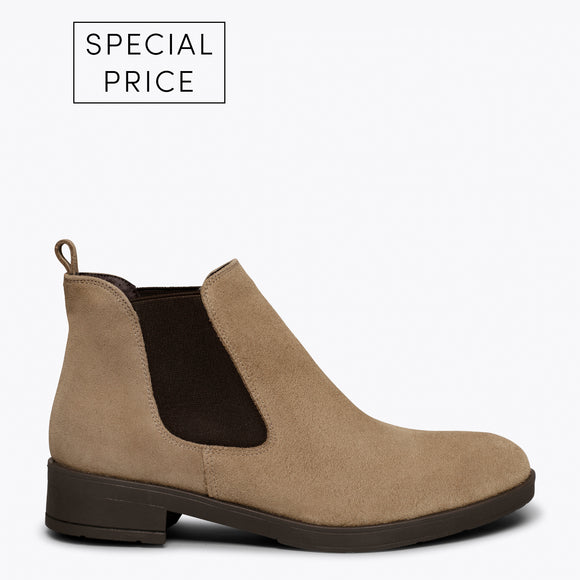 PICADILLY - Bottines chelsea TAUPE pour femme