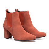 BOTTINES URBAN- Bottines à talon TERRACOTA