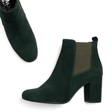 BOTTINES URBAN- Bottines à talon VERT