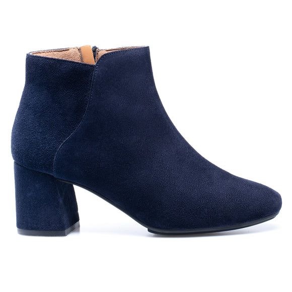 DAY - Bottines Casual en cuir BLEU MARINE