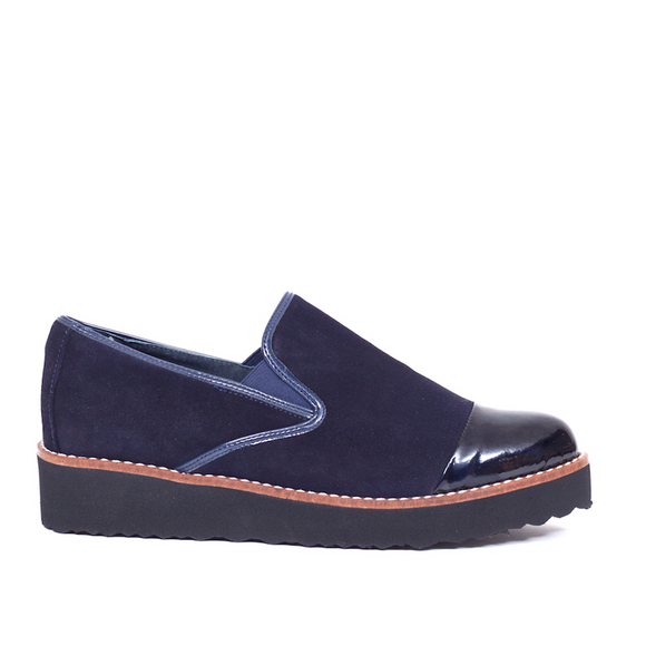 Slipper Moon Bleu Marine