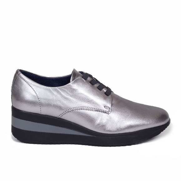 Derbies Confort Star Argent
