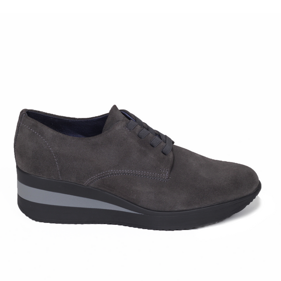 Derbies Confort Gris