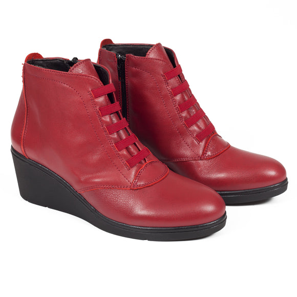 les-bottines-plus-confortables-rouge