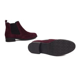 bottines-confort-femme-bordeaux