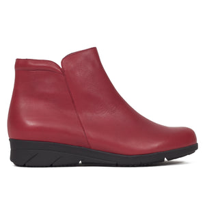 bottines-compensee-pour-femme-rouge